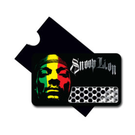 Custom card grinders for Snoop Lion
